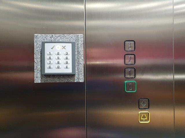 Selfstorage Aufzug Maße
